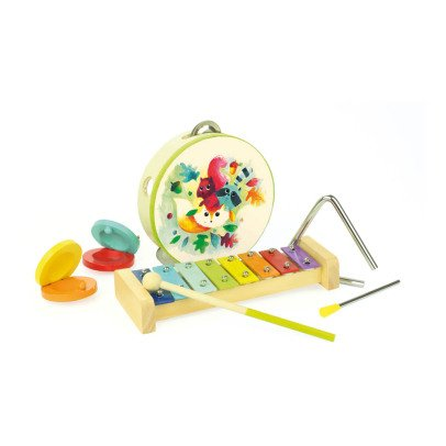 Vilac Set d'instruments de musique Woodland Multicolore-listing