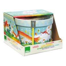 Vilac Tamburello in Metallo Woodland Multicolore-listing