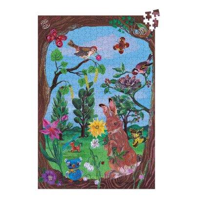 """Vilac Grand puzzle """"Au bois"""" de Nathalie Lété  Multicolore-listing"""