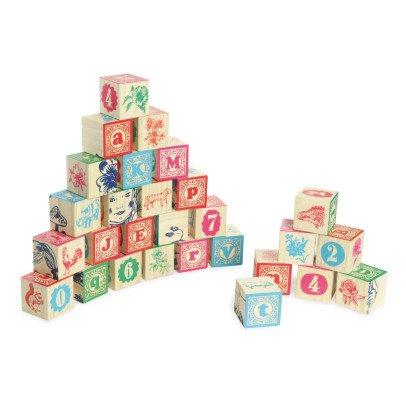 Vilac Jeu de cubes sérigraphiés Nathalie Lété Multicolore-listing