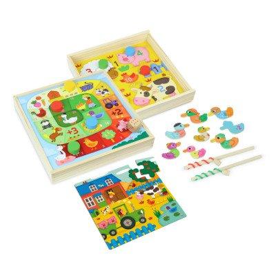 Vilac Jeux des tout petits à la ferme Multicolore-listing