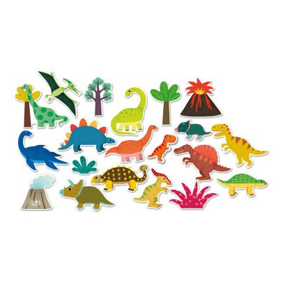 Vilac Dinosaur Magnets - 20 pcs Multicoloured-product