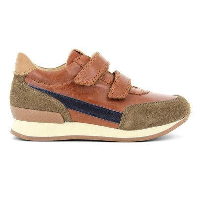 10 IS Suede Leather Velcro Ten Jog Trainers-listing