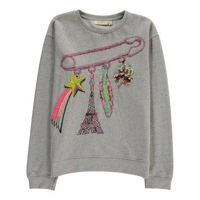Soft Gallery Embroidered Charm Cira Sweatshirt-listing