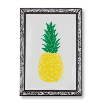THE prints by Marke Newton Pineapple Poster 29.7x42cm-listing