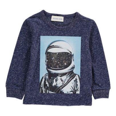 Simple Kids Astronaut T-Shirt-listing