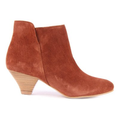 Sessun Boots Cuir Suédé You-listing