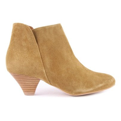 Sessun Leather Suede You Boots-listing