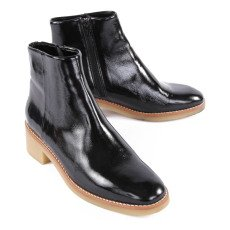 Sessun Boots Cuir Vernis Alphonse-listing