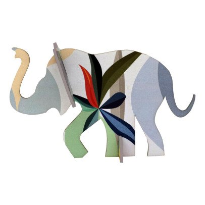 Studio Roof Elefante di carta da costruire-listing