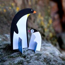 Studio Roof Pinguino di carta da costruire-listing