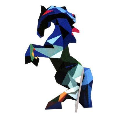 Studio Roof Tarjeta para construir caballo-listing