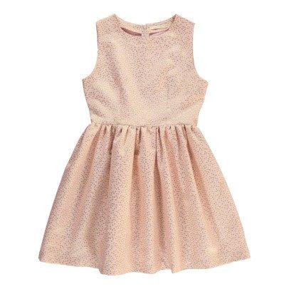 Poppy Rose Ghita Lurex Polka Dot Dress-listing