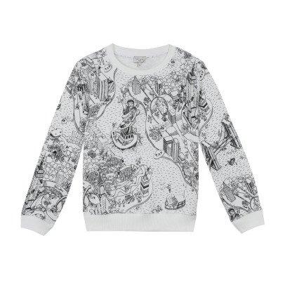 Paul Smith Junior New York Map Maddox Sweatshirt-listing