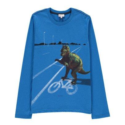 Paul Smith Junior Dinosaur Moby T-Shirt-listing