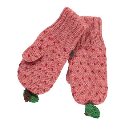 Oeuf NYC Apple Alpaca Wool Baby Mittens-product