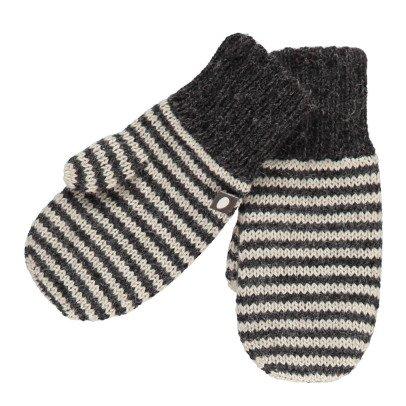 Oeuf NYC Moufles Baby Alpaga Rayées-listing