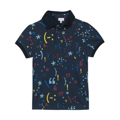 Paul Smith Junior Punctuation Melchior Polo Shirt-listing