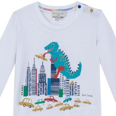 Paul Smith Junior Dinosaur Marny T-Shirt-listing