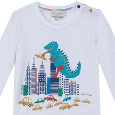 Paul Smith Junior T-shirt Dinosaure Marny-listing
