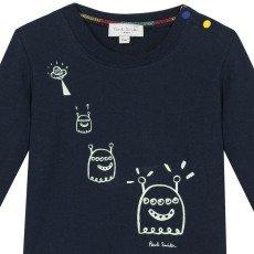 Paul Smith Junior Luminous Alien Moon T-Shirt-listing