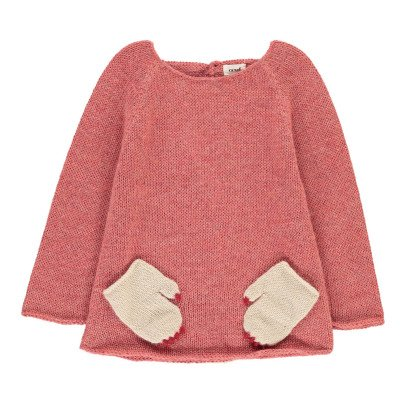 Oeuf NYC Monster Alpaca Wool Baby Jumper-product