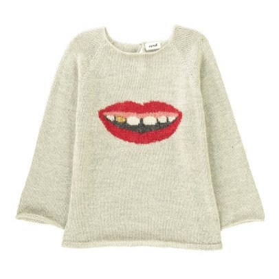 Oeuf NYC Mouth Alpaca Wool Baby Jumper-product