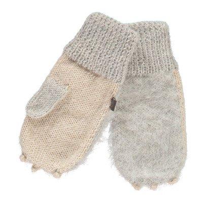 Oeuf NYC Rabbit Alpaca Wool Baby Mittens-product