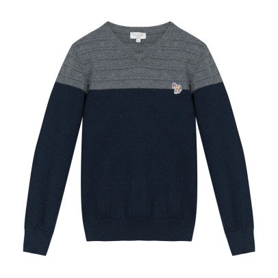 Paul Smith Junior Two-Tone Manuel Pullover-listing