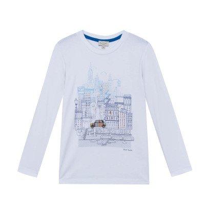 Paul Smith Junior New York Marvel T-Shirt-listing