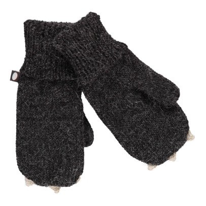 Oeuf NYC Cat Alpaca Wool Baby Mittens-product