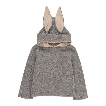 Oeuf NYC Rabbit Alpaca Wool Baby Burnous-listing