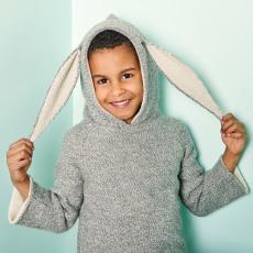 Oeuf NYC Baby-Burnus Kaninchen aus Alpaka-listing