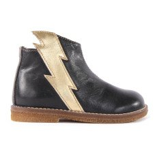 product-Ocra Lightning Bolt Zip-Up Boots