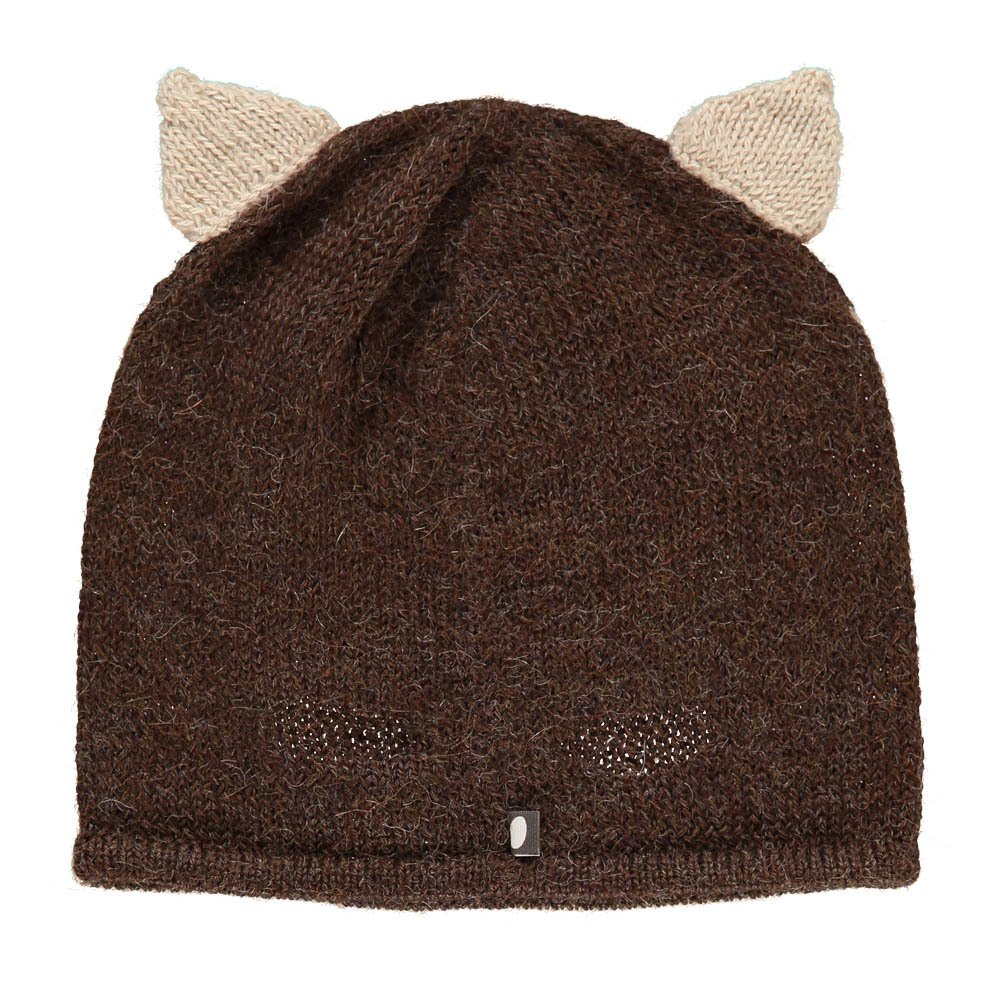 Squirrel Alpaca Wool Baby Beanie-product