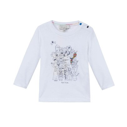 Paul Smith Junior Monster Maxwell T-Shirt-listing