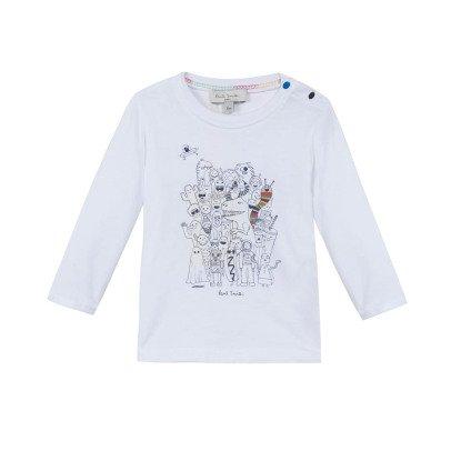 Paul Smith Junior T-shirt Monstres Maxwell-listing
