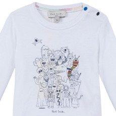 Paul Smith Junior Monster Maxwell T-Shirt-listing