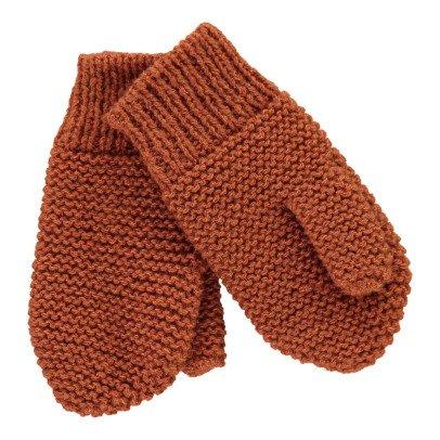 Ketiketa Moss Stitch Wool Mittens-product