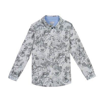 Paul Smith Junior New York Map Master Shirt-listing