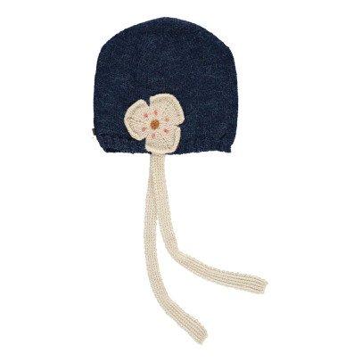 Oeuf NYC Flower Alpaca Wool Baby Beanie-product