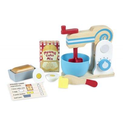 Melissa & Doug Robot batidora y utensilios de madera Multicolor-listing