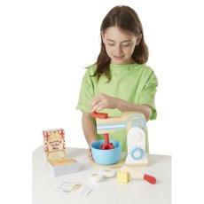 Melissa & Doug Robot mixeur et ustensiles en bois Multicoloured-listing
