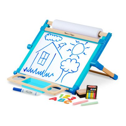 Melissa & Doug Tableau deluxe et kit dessin Multicolore-listing