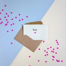 Mathilde Cabanas Mini tarjeta Bisou Multicolor-listing