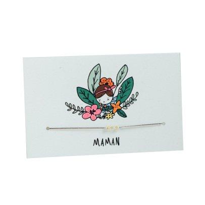 Mathilde Cabanas Bracelet Maman - Collab Sofie Ju Multicolore-listing