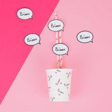 Mathilde Cabanas Becher Bisou- 8 Stück-bunt -listing