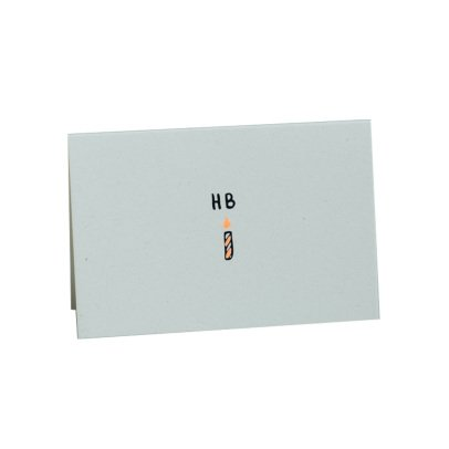 Mathilde Cabanas Mini tarjeta Happy Birthday Multicolor-listing