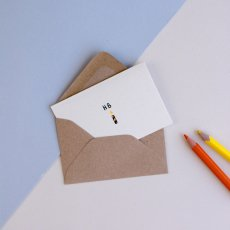 Mathilde Cabanas Mini Karte Happy Birthday- Bunt -listing
