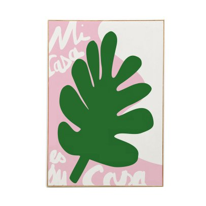 Mathilde Cabanas Affiche Mi Casa Multicolore-listing
